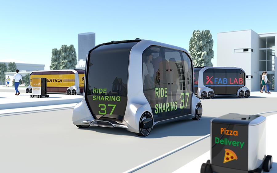 丰田智能面板概念汽车亮相CES